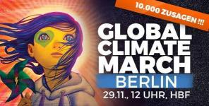 Global Climate March Berlin 29.11.2015